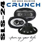 Crunch GTi693 3-Wege Triax Lautsprecher 15x23cm oval Boxen 250W max. 125Watt RMS