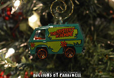 Custom Scooby Doo Mystery Machine Christmas Ornament Van Bus Shaggy Adorno NEW
