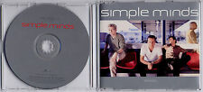 SIMPLE MINDS War Babies 1989 UK 1-track promo CD withdrawn