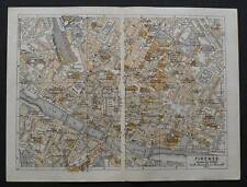 Antica Stampa=Topografica=FIRENZE =Scala1:13000 -1909c.