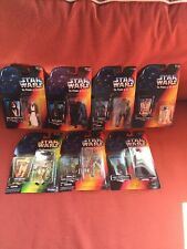 Star Wars Action Figures The Power of the Force Kenner 1995 - 96 Lot of 7 New!
