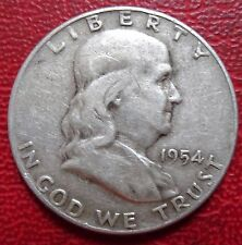 United States, Franklin Half Dollar, 1954,   Very Fine ++ (A-001/1)