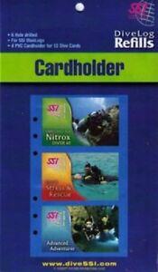 SSI C-Card Holder Pack für 12 Dive Cards