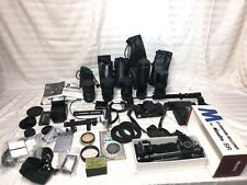 Canon A1 35mm Camera and Photography Equipment w/ Accessories + Lenses Toyo