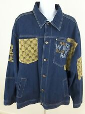 Raw Blue~Men's Size 2X~Denim Jacket.