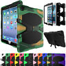 Heavy Duty Hybrid Rugged Shockproof Armor Stand Hard Case Cover For iPad mini 4