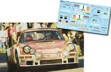 Decal 1:43 Marc Etchebers - PORSCHE 911 SC - Rally El Corte Ingles 1980 Winner