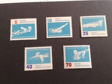 1962 DDR part set of Tenth European Swimming Championships, Leipzig MNH stamps