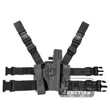 Level 3 Serpa Right Hand Drop Leg Pistol Gun Holster for Glock 17 19 22 23 31 32