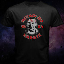 Miyagi Do Inspired Karate Kid Japanese Kung Fu Martial Arts Black T Shirt