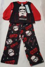 NWT Toddler Boys Disney Star Wars Long Sleeve Shirt & Pants Pajama Set Size 4