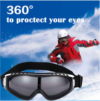 Anti-Wind Goggles Snow Skiing Eyewear Riding Glasses Cool Snowmobile Sunglasses
