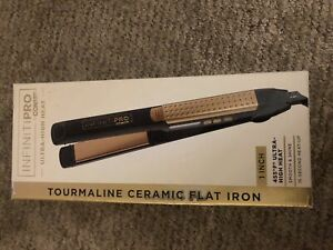 """InfinitiPro by Conair Professional High Heat Gold Flat Iron - 1"""""""