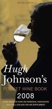 Hugh Johnson's Pocket Wine Book 2008: 31st Edition, Johnson, Hugh, 1845333209, B