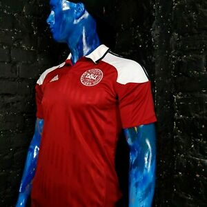 Denmark Jersey Home football shirt 2012 - 2013 Adidas X16667 Red Size Young XL