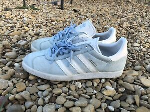 adidas Gazelle Lace Up Mens Sneakers Shoes Casual Size 10.5
