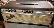 Vintage 1969 Fender Bassman Tube Guitar Amplifier Silverface Amp AA864 BF specs!