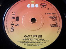 "EARTH, WIND & FIRE - CAN'T LET GO    7"" VINYL"