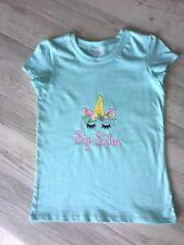 Girls Shirt Big Sister Size 7 Birthday Gift