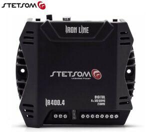 Stetsom IR 400.4 2 Ohms - Iron Line Car Audio 400W Compact Amplifier 4 channel