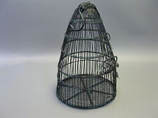 Vecchio Gabbia per Uccelli Uccello Trappola 45cm x 32cm