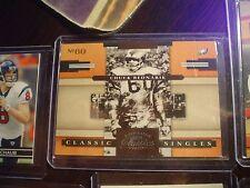 CHUCK BEDNARIK, EAGLES S#938/1000 2008 CLASSICS SINGLES FOOTBALL CARD #CS-25
