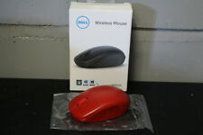 Dell WM126 Wireless Mouse, rot, USB