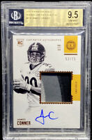 James Conner 2018 Encased RC Rookie Patch Auto /75 STEELERS BGS 9.5 /10