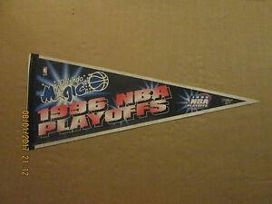 NBA Orlando Magic Vintage Circa 1996 NBA PLAYOFFS Logo Basketball Pennant