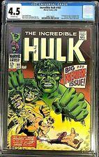 Incredible Hulk #102 CGC 4.5