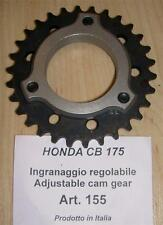 Honda CB175 Cappellini #155 adjustable camshaft sprocket to precison tune cam