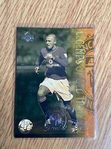 David Beckham Upper Deck 2001 Legends Of Old Trafford L8