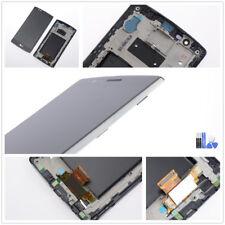 Original LG Optimus G4 H810 H815 Display LCD Touchscreen Digitizer Rahmen schwar