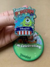 Monsters Inc MIKE & SULLEY- Main Street Popcorn Pin Hong Kong Disneyland DHK
