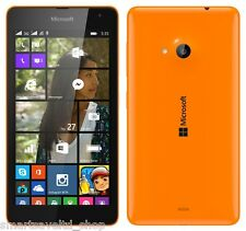 "brand new LUMIA 535 ORANGE 5"" UNLOCKED SMARTPHONE SIM FREE WIN 8.1 3G SMARTPHONE"