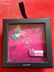 London Olympics 2012 - 2 Pin Box Set - Trampoline