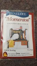 Sewing Machine mini counted cross stitch kit BNIP stocking filler