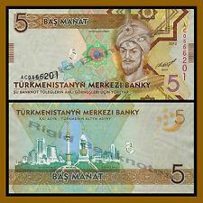 Turkmenistan 5 Manat, 2012 P-30 Unc