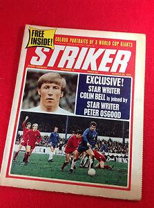 Vintage : STRIKER : Football Magazine : 28 Mar 1970 - No 12