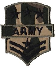 Ecusson patche Armée militaire Army thermocollant military patch