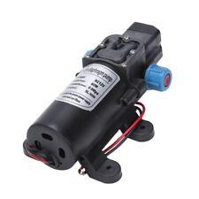 Black DC 12v 60w High-pressure Mini Membrane Water Pump Automatic Shutdown 5l Ye