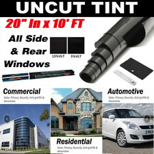 1-5 Roll Uncut Window Tint Film 5% 35% VLT 99% UV Rejection For Car Home Office