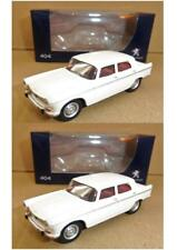"Lot 2 PEUGEOT 404 Beige 1965 1/64 ""3 Inche"" Norev Diecast Neuf Boite"