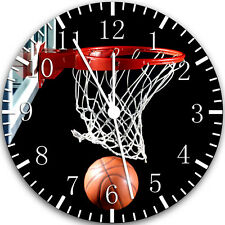 "Basketball Sport wall Clock 10"" will be nice Gift and Room wall Decor W118"
