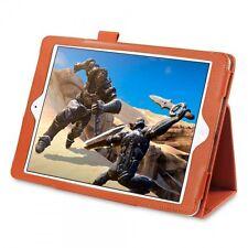 iPad Air Orange Case Premium Leather Book Case Folio Cover  iPEX™