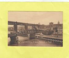 HIGH LEVEL &  SWING  BRIDGES   ,  NEWCASTLE ON TYNE  , TYNE & WEAR   ( 53K )