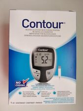 Bayer Contour Blood Glucose Monitoring System/Monitor/Meter - Black *BRAND NEW*