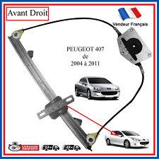 Alzacristallo Peugeot 407 05///'04 Meccanismo Anteriore 5 Porte Dx Destro