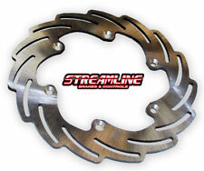 Polished Rear Motorcycle Brake Rotors
