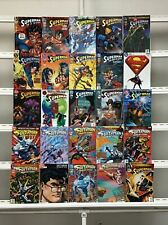 Superman Man Of Steel Dc 25 Lot Comic Book Comics Set Run Collection Box2